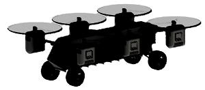 Panther UAV/UGV
