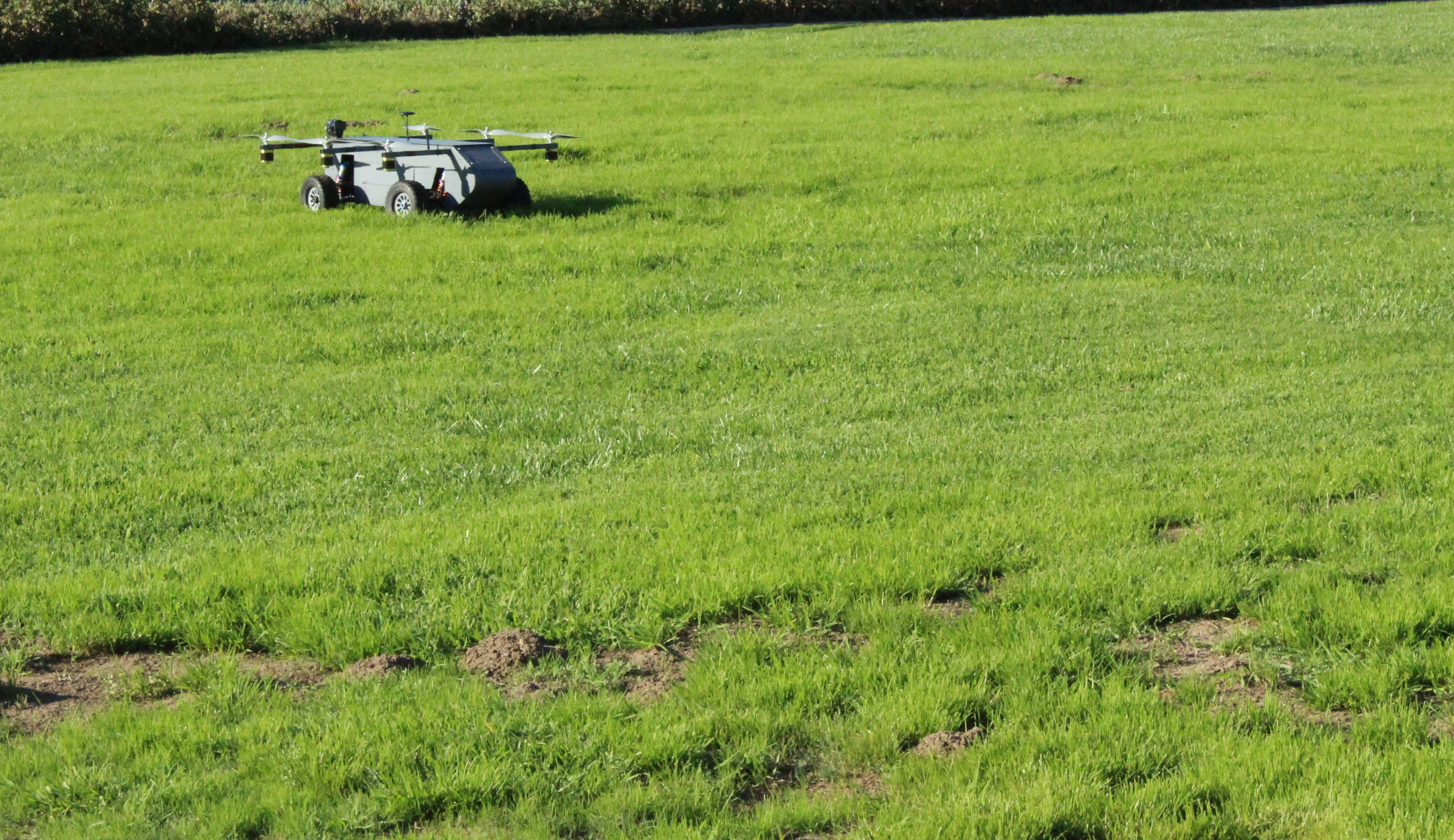 Autonomous AT Panther Air/Ground Robot