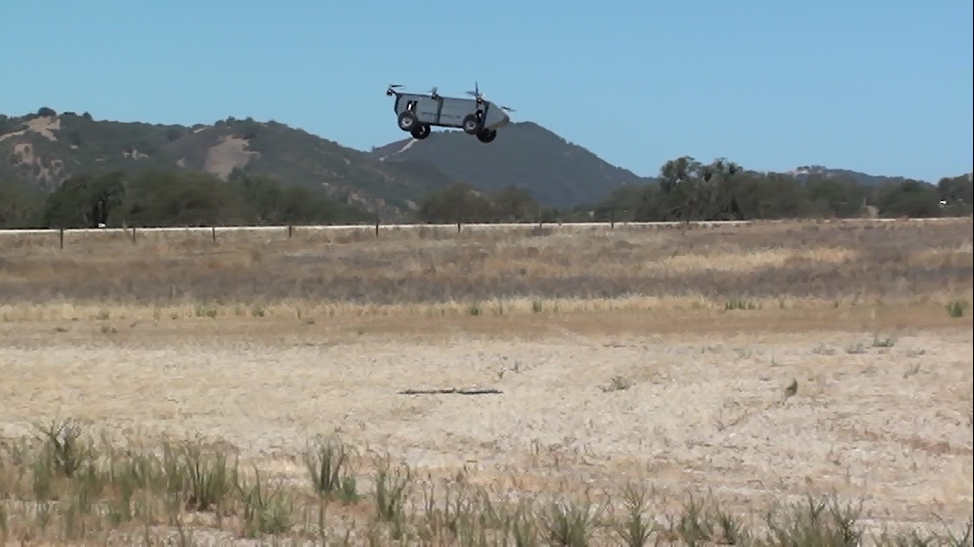 As a multi-rotor vehicle, the AT Panther Air/Ground Robot is highly maneuverable and easy to control.